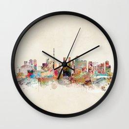 tokyo japan skyline Wall Clock