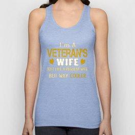 Veteran's Wife Unisex Tank Top