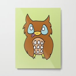 Cutie Owl Metal Print