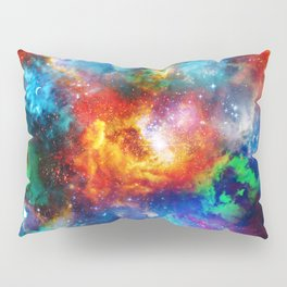 Galaxy Print Pillow Sham