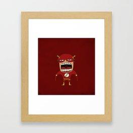 Screaming Flash Framed Art Print