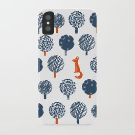 Lost in the Woods ( a Fox adventure) iPhone Case