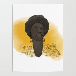 Nina Simone - Freedom Poster