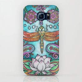 Enlightened Dragonfly iPhone Case