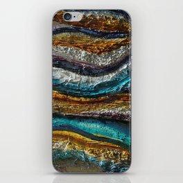 """Rainbow waves"" iPhone Skin"