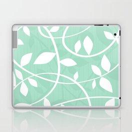 Vine pattern in Mint by Friztin Laptop & iPad Skin