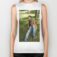 liam payne Biker Tanks featuring Liam Payne by behindthenoise