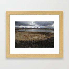 Iceland - Myvatn Framed Art Print