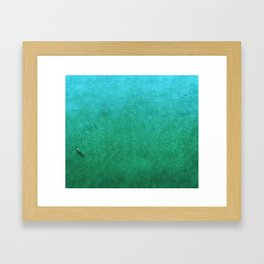 Otters Framed Art Print