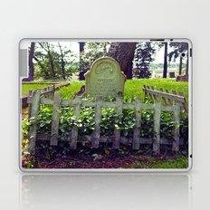 Cemetery landscape Laptop & iPad Skin