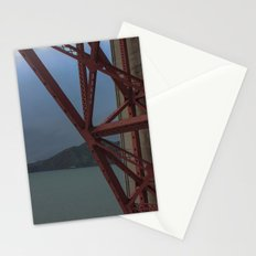 Golden Gate Geometry 1 Stationery Cards