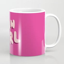 Fangirl in Pink Coffee Mug