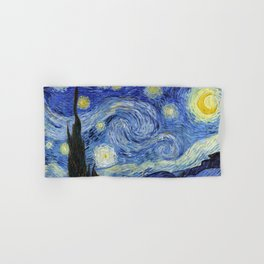 Starry Night by Vincent Van Gogh Hand & Bath Towel