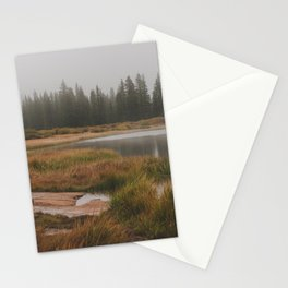 Foggy Colorado Morning Stationery Cards