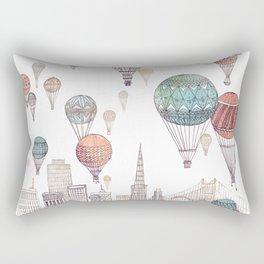 Voyages Over San Francisco ~ Refresh Rectangular Pillow