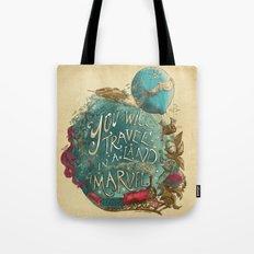 Jules Verne Tote Bag
