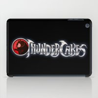 thundercats iPad Cases featuring Thundercakes by entangle