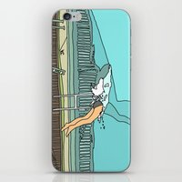 diver iPhone & iPod Skins featuring Diver by Highly Anticipated