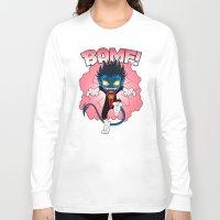 nightcrawler Long Sleeve T-shirts featuring BAMF! by ZombieGirl