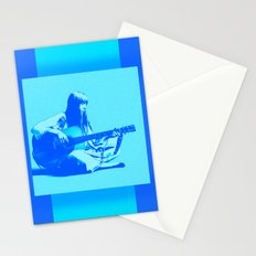 Blue Songbird Stationery Cards