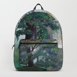 Peaceful Path Tree Painting Backpack
