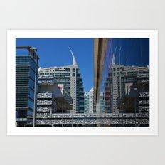 Lisbon, architecture, city, ville Art Print