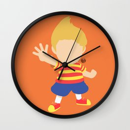 Lucas(Smash) Wall Clock