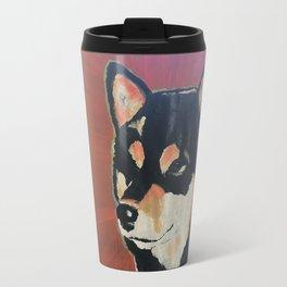 Kuma the Shiba Travel Mug