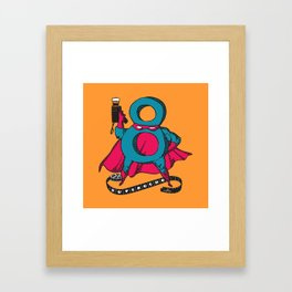SUPEROCHO (aka SUPER 8) Framed Art Print