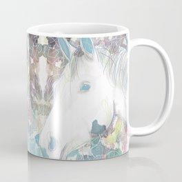 Watercolor Horse Illustration by McKenna Sendall Coffee Mug
