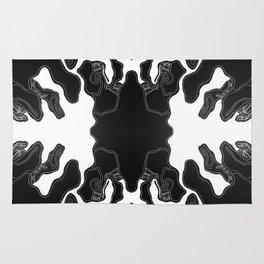 Monochrome Lagoon Rug