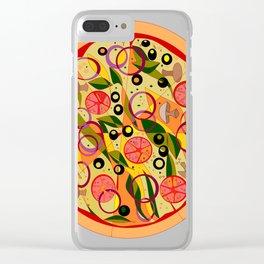 A Veggie Pizza, my Favorite Clear iPhone Case
