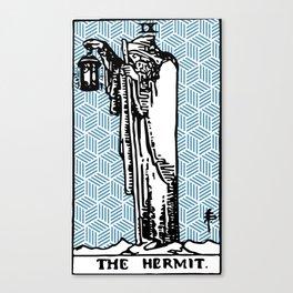Geometric Tarot Print - The Hermit Canvas Print