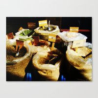 spice Canvas Prints featuring Spice by Madison Webb