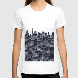 Boston Skyline Massachusetts T-shirt
