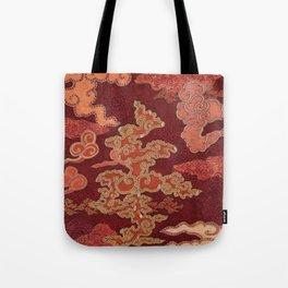 Crimson Clouds Tote Bag