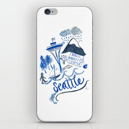 City of Seattle iPhone Skin