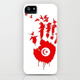 Tunisian Revolution iPhone Case