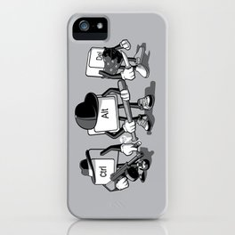 Computer Mafia iPhone Case