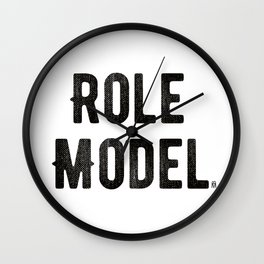 Role Model Wall Clock