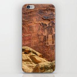Three Kings Petroglyph - Mcconkie Ranch - Utah iPhone Skin