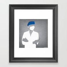 Anesthesiology Framed Art Print