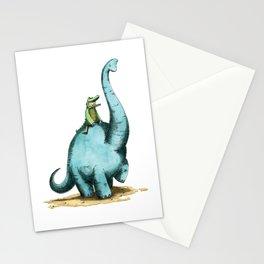 Brachiosaur Rides (Norm the Alligator) Stationery Cards