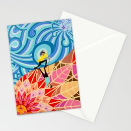 The North wind and The Sun Stationery Cards