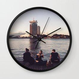 Chill Amsterdam Wall Clock