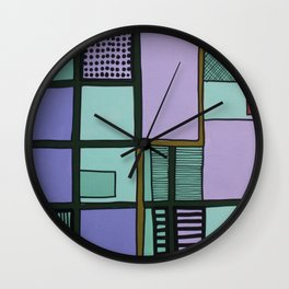 Field No. 136 Wall Clock