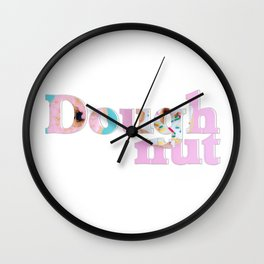 Doughnut Wall Clock