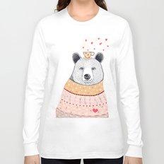 Bear lover of coffee Long Sleeve T-shirt