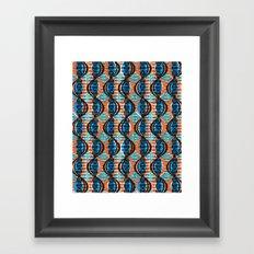 acacia pod Framed Art Print