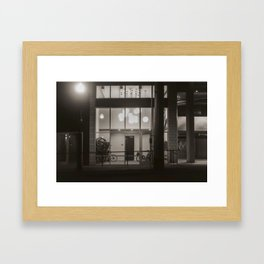 Bicycle Storage Framed Art Print